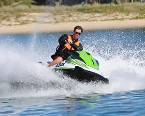 1.5 Hour South Stradbroke Island Jet Ski Tour NO LICENCE REQUIRED