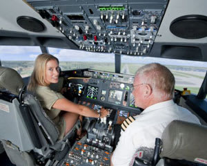 Flight Simulator, 60 Minutes + FREE 30 MINUTES AND FLIGHT RECORDING - Perth