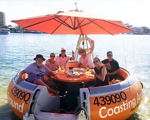 Private Round Boat Hire, 2 hour - Gold Coast