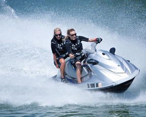 Jet Ski Adventure for 2, 1hr South Stradbroke Island Blast - Gold Coast