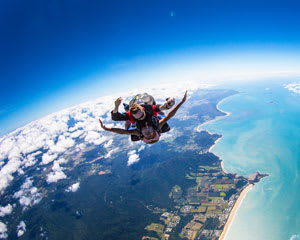Skydiving Mission Beach (near Cairns) - Tandem Skydive Up To 7,500ft