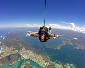 Skydiving Over The Beach Newcastle - Weekday Tandem Skydive Up To 7,000ft