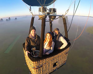 Hot Air Balloon Flight in Sydney's Hawkesbury Valley - Ultimate Romance Package