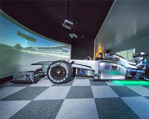 Full Size Formula 1 Racing Simulation - 30 minutes