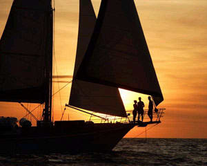 Perth Sailing Cruise, Perth Sunset Sail (Monday-Thursday)