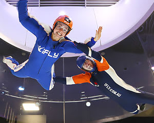 Indoor Skydiving Sydney, iFLY Intro Package (2 Flights) - FOR 2