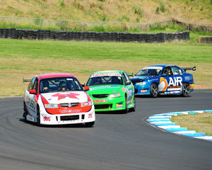 V8 Drive & Hot Laps (Back Seat), 9 Lap - Wakefield Park Raceway, NSW