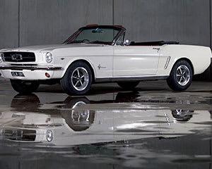 1965 Ford Mustang Convertible Car Hire, 6 Hours, Midweek – Moorabbin