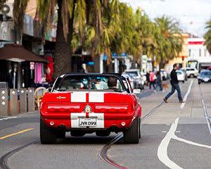 GT500 Mustang Convertible Car Hire, 6-hours, Midweek– Moorabbin
