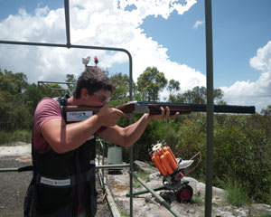Clay Target Shooting with Live Ammo - Sydney