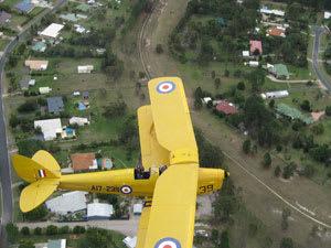 30 Minute Tiger Moth Joy Flight - Caboolture, Moreton Bay