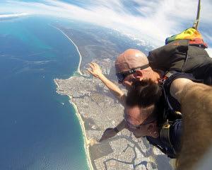 Skydiving Sunshine Coast Caloundra - Tandem Skydive 15,000ft SPECIAL