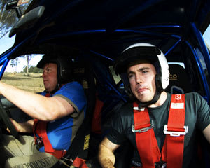 Rally Driving Tailem Bend, SA - 8 Lap Drive AND 1 Hot Lap