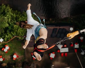 Bungy Jump & Giant Jungle Swing Combo - Cairns