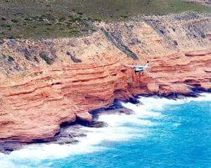 Kalbarri River Gorges and Coastal Cliffs Flight