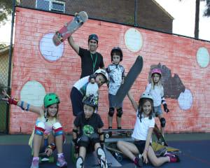 Learn to Skateboard, Kids Lesson - Sydney