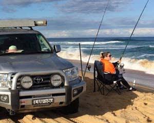4WD Beach Fishing Tour, 4 Hours - Port Stephens