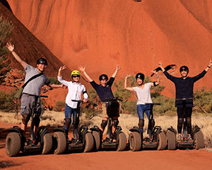 Uluru By Segway Sightseeing Tour with Transfers - Uluru