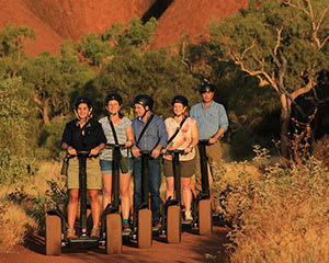 Uluru Sunrise Breakfast and Segway Tour - Uluru