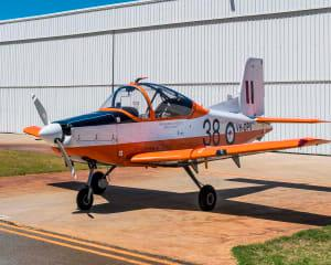 Thrilling Ex-Military Warbird Adventure Flight, 40 minutes - Perth