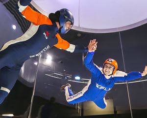 Indoor Skydiving Gold Coast, iFLY Plus Package (4 Flights) - MARCH SPECIAL!