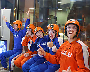 Indoor Skydiving Sydney, iFLY Family & Friends Package (10 Flights) - MARCH SPECIAL!