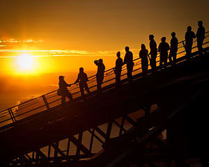Sydney Harbour Bridge Climb Summit - Twilight