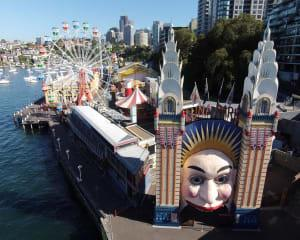 Luna Park Unlimited Rides Pass During Vivid (106cm-129cm) - Sydney
