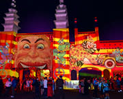 Luna Park Unlimited Rides Pass (85cm-105cm) During Vivid - Sydney