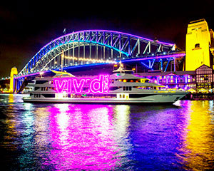60 Minute Vivid Sydney Lights Evening Cruise