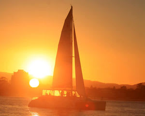 Sailing, Two Hour Sunset Cruise - Gold Coast - LAST MINUTE SPECIAL