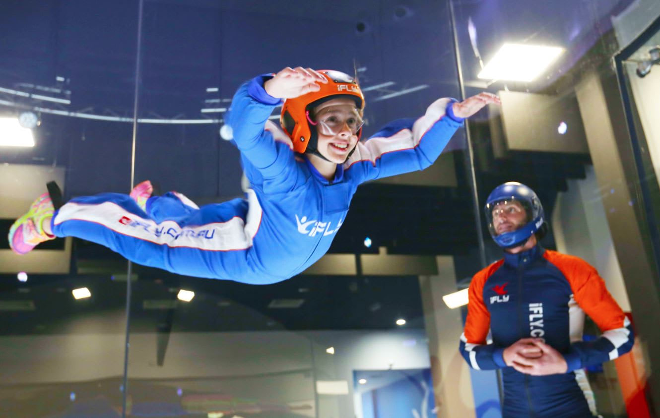 Indoor Skydiving Gold Coast, iFLY Basic Package (2 Flights) - BUY ONE GET ONE FREE
