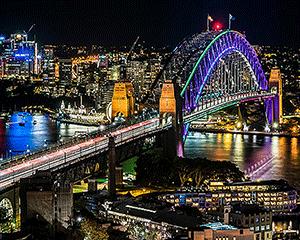 Vivid Sydney Harbour Cruise with Aboriginal Performance