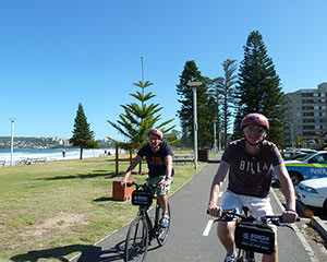 Sunset Bike Tour with Ferry Ride to Manly Beach