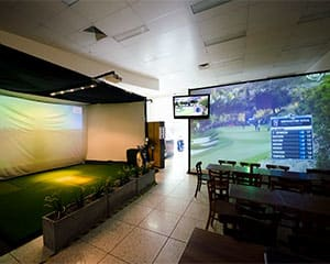 TrackMan Golf Simulator, Melbourne - 2 Pro Lessons and 18 Holes of Golf