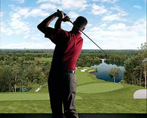2 Indoor Golf Lessons, Sydney - Round of 18 Holes