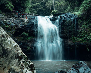 Full Day Hinterland Canyoning Tour, Gold Coast