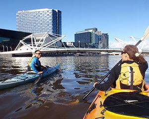 Melbourne City Kayak Tour, Yarra River