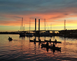 Moonlit Kayak Tour & Dinner - Melbourne