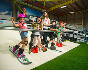 Indoor Ski or Snowboard Group Lesson, Brisbane - 60 Minutes
