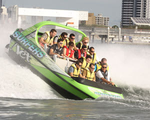 V8 Jet Boat Ride, 1-hour and 1 hour SUP Hire - Surfers Paradise, Gold Coast - EOFY SPECIAL!