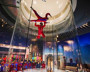 iFLY Brisbane Indoor Skydiving - 3 Flights - Midweek