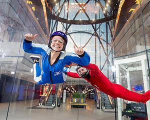 iFLY Brisbane Indoor Skydiving - 4 Flights - Weekend
