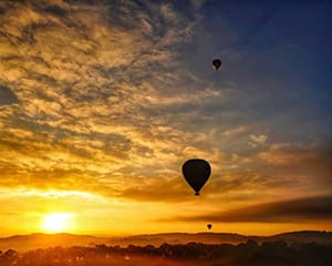 Hot Air Ballooning Over Northern Tasmania - EOFY SPECIAL!