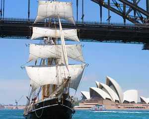 Sailing, Tall Ship Lunch Cruise - Sydney - LAST MINUTE DEAL