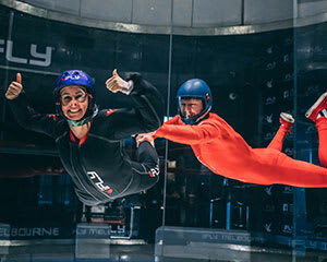 iFLY Melbourne Indoor Skydiving, 10 Flights Between up to 5 People - Weekend