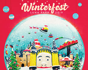 WINTERFEST 2019 Luna Park Unlimited Rides Pass (height 130cm+) - Sydney