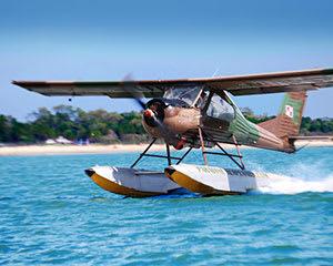 River Dash Seaplane Adventure with Photobook over Maroochydore
