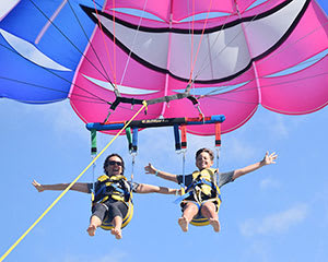 Scenic Parasail Over the Gold Coast - 8 Minutes - For 2