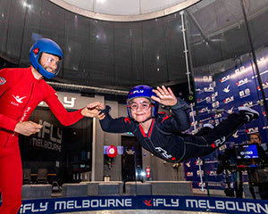 iFLY Melbourne Indoor Skydiving, 10 Flights Between up to 5 People - Midweek